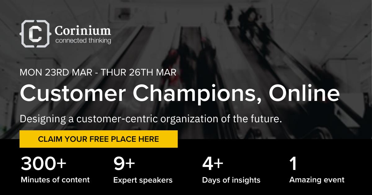 Customer Champions Online - Register now