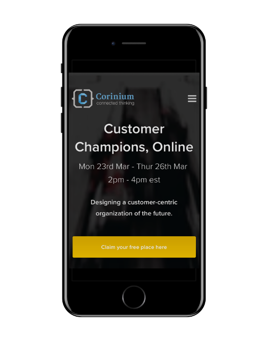 Customer Champions, Online